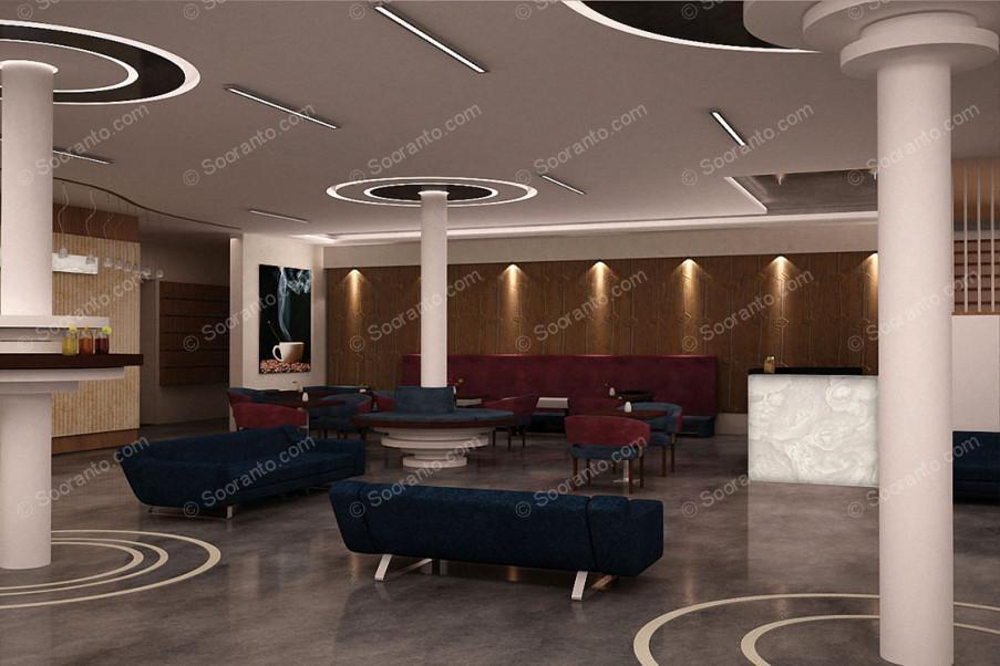 عکس سالن هتل بزرگ ارم 2457