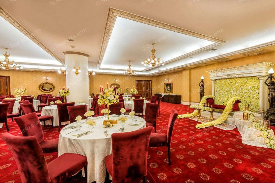 عکس سالن هتل بین المللی قصر طلایی 2132