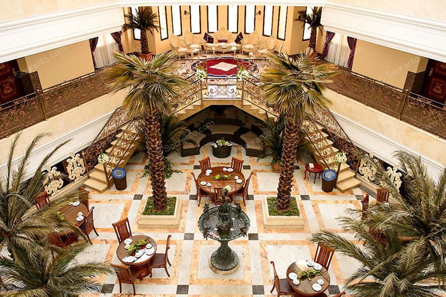 عکس سالن هتل بین المللی قصر طلایی 2139