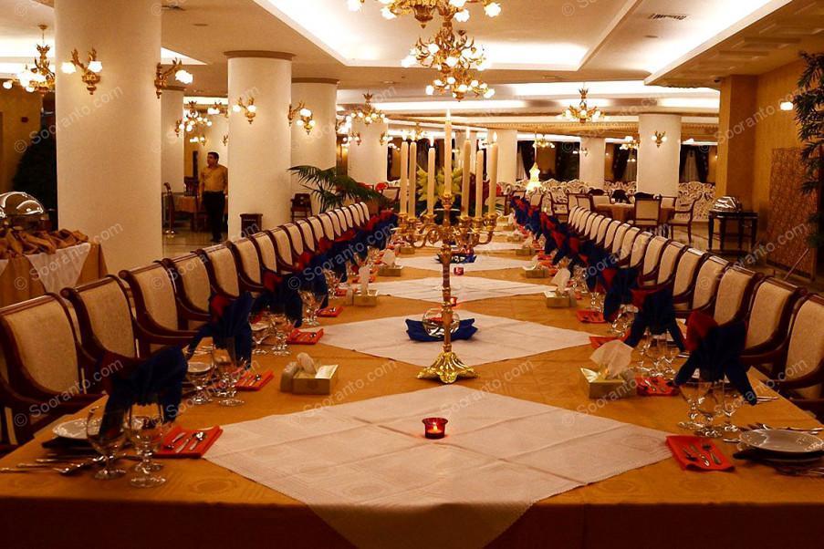 عکس سالن هتل بین المللی قصر طلایی 2124