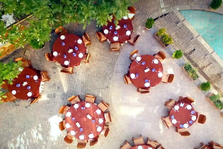 عکس سالن هتل پارسیان 3788