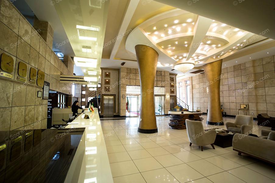 عکس سالن هتل معین 3807