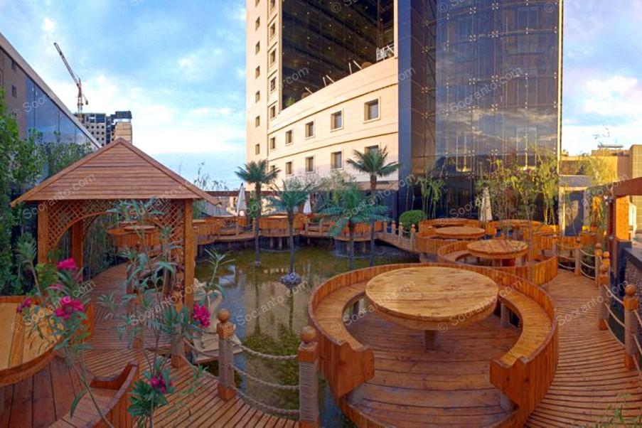عکس سالن هتل مجلل درویشی 4117