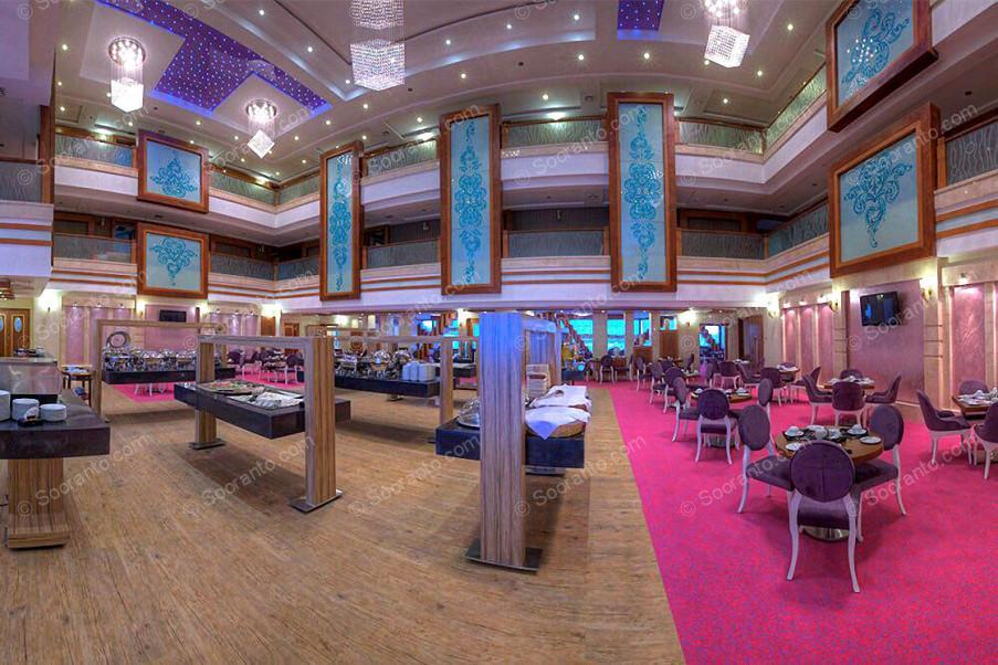 عکس سالن هتل مجلل درویشی 4123