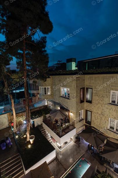 عکس سالن بوتیک هتل حنا 5071