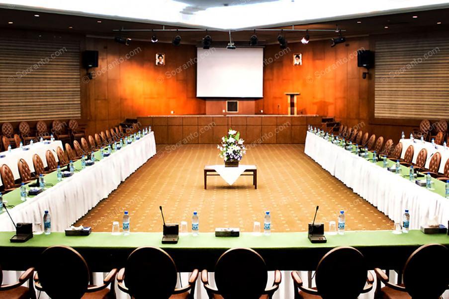 عکس سالن سالن هگمتانه هتل المپیک 2075