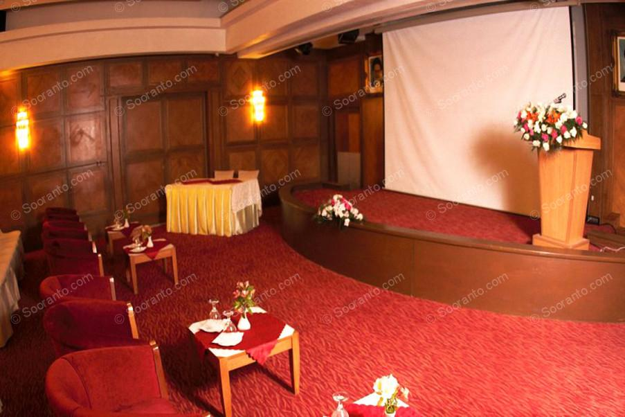 عکس سالن سالن همایش زمرد هتل بین المللی پارس 2168