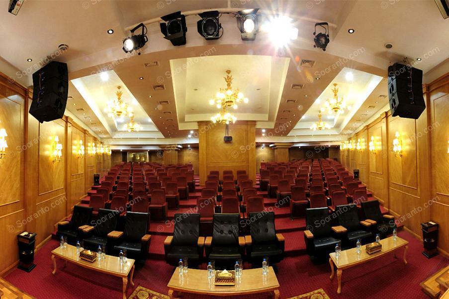 عکس سالن سالن آمفی تئاتر آذین هتل بین المللی قصر طلایی 2145