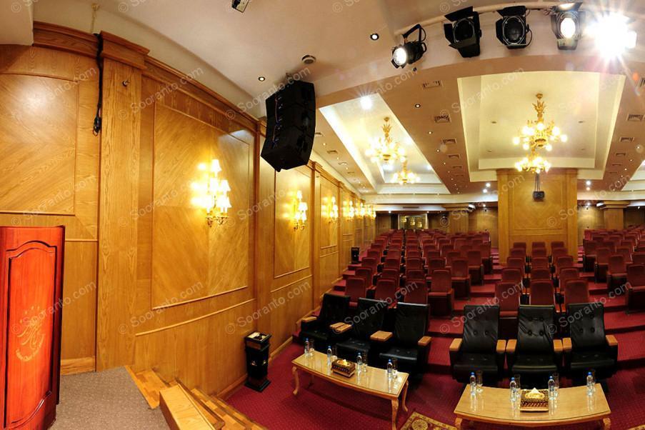 عکس سالن سالن آمفی تئاتر آذین هتل بین المللی قصر طلایی 2146