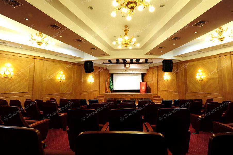 عکس سالن سالن آمفی تئاتر آذین هتل بین المللی قصر طلایی 2147