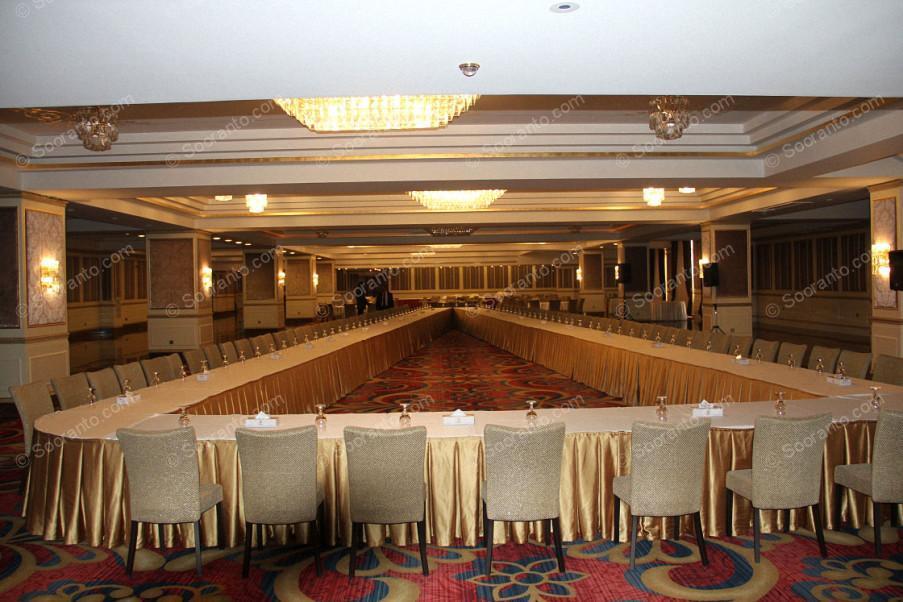 عکس سالن تالار امیران 1 هتل اسپیناس پالاس 2223