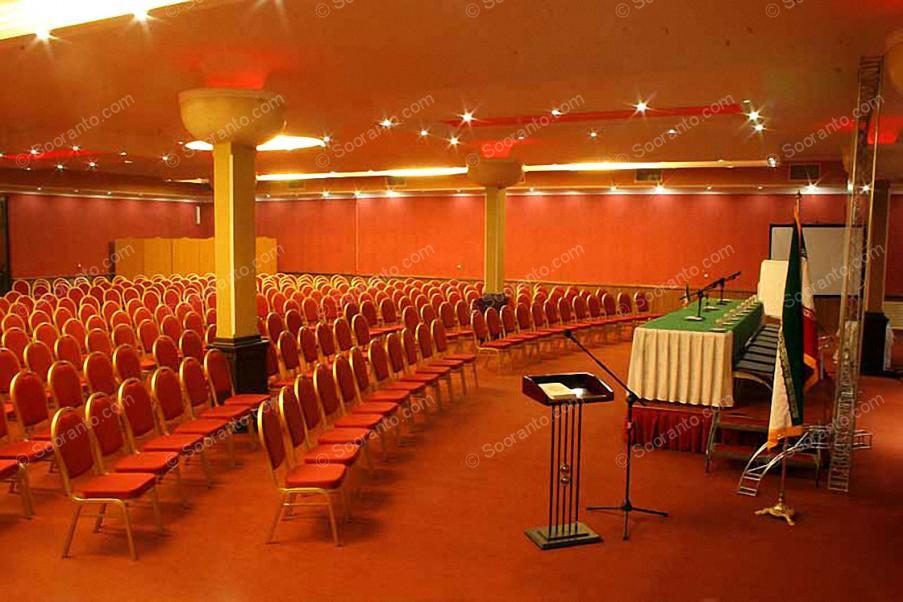 عکس سالن سالن یاقوت باغ تالار ماهان 3639