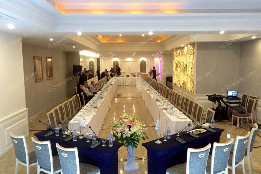 عکس سالن VIP لاتون هتل اسپیناس پالاس 2286