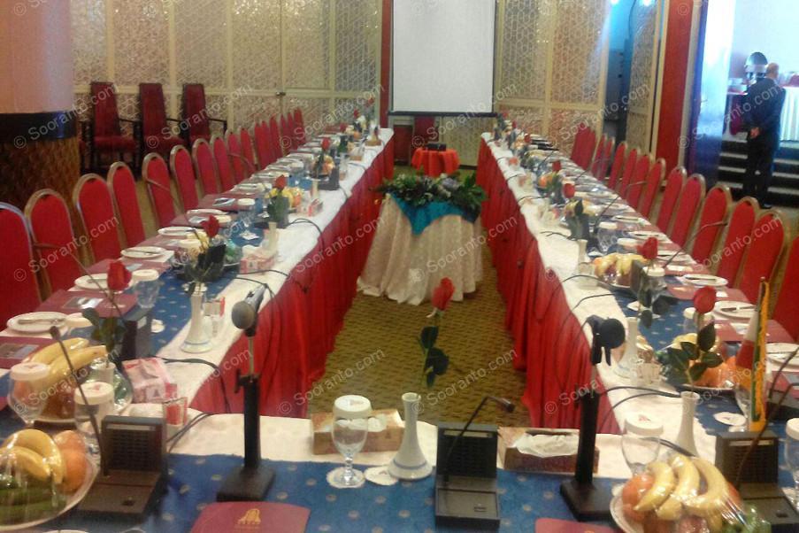 عکس سالن سالن همایش چشم انداز هتل پارسیان خزر 2387