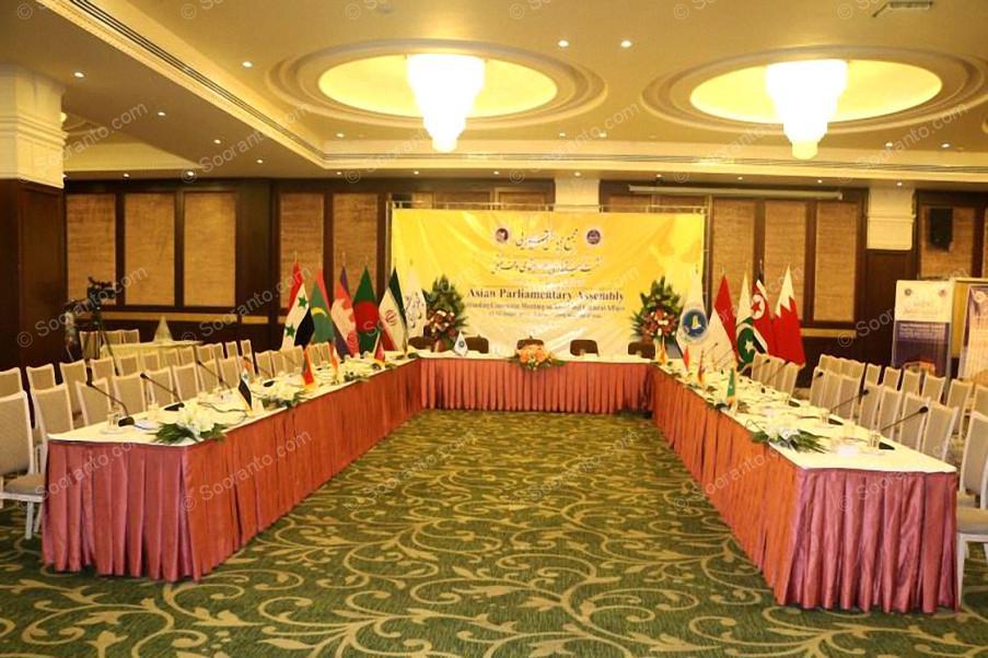 عکس سالن تالار پاسارگاد هتل اسپیناس خلیج فارس 3234