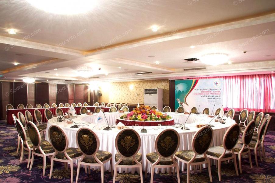 عکس سالن تالار خلیج فارس هتل اسپیناس خلیج فارس 3239