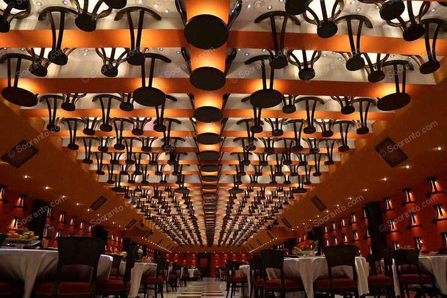 عکس سالن سالن دیپلمات (آقایان) هتل بین المللی بزرگ فردوسی 2692