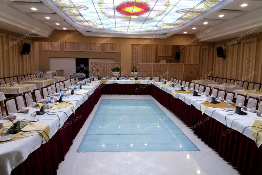 عکس سالن سالن کنفرانس شماره دو هتل بادله 3154