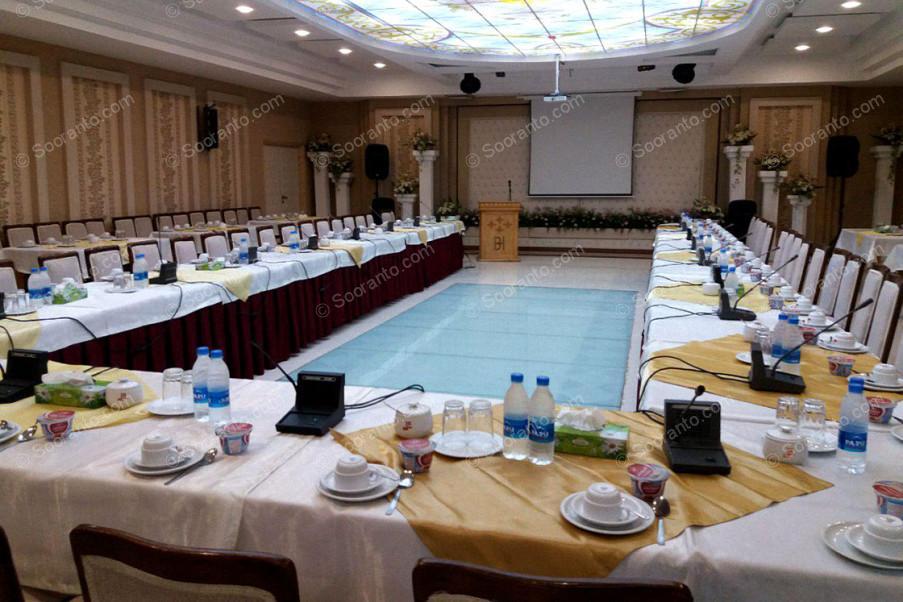 عکس سالن سالن کنفرانس شماره دو هتل بادله 3156