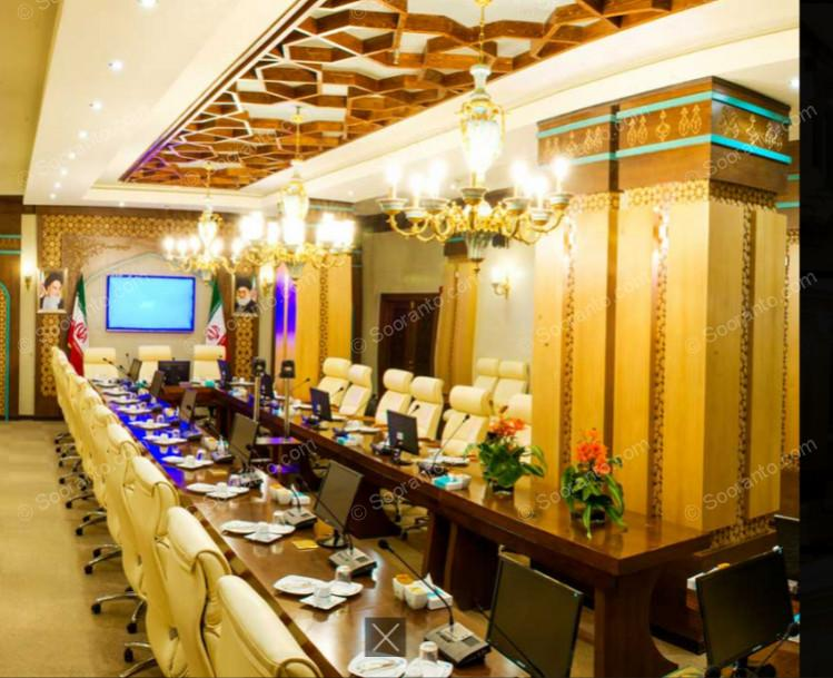 عکس سالن سالن کنفرانس اصلی هتل مدینه الرضا 4406