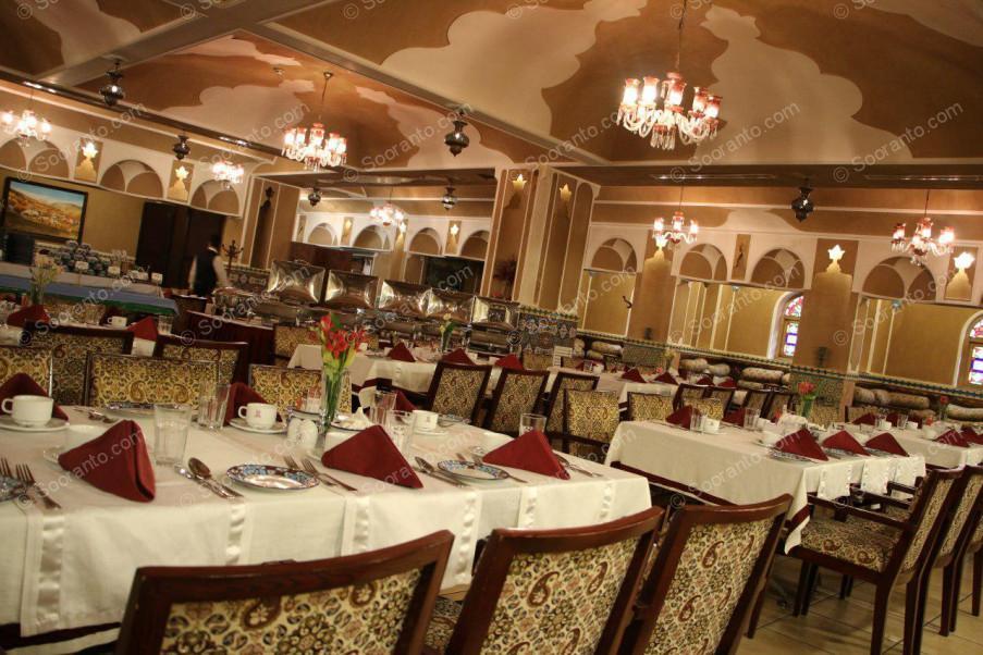 عکس سالن رستوران مانداک هتل اسپیناس خلیج فارس 4722