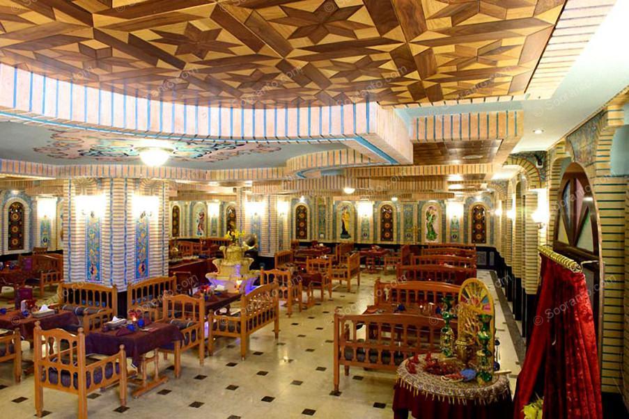 عکس سالن هتل بین المللی قصر طلایی 2137