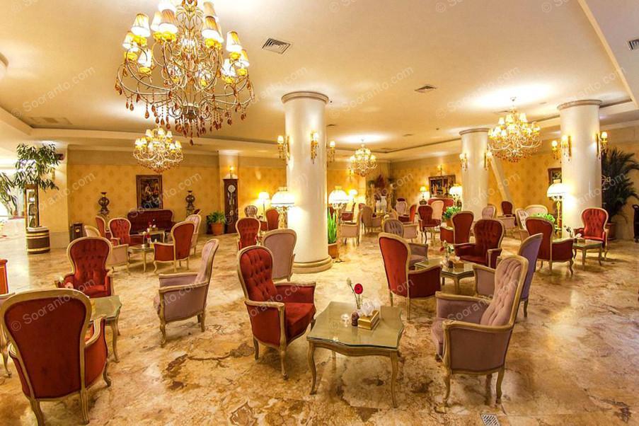 عکس سالن هتل بین المللی قصر طلایی 2122