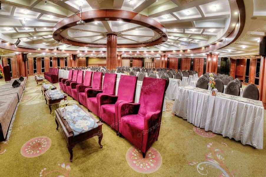 عکس سالن هتل بزرگ 2182