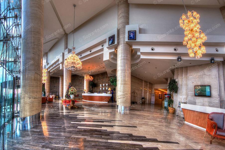 عکس سالن هتل بزرگ 2174