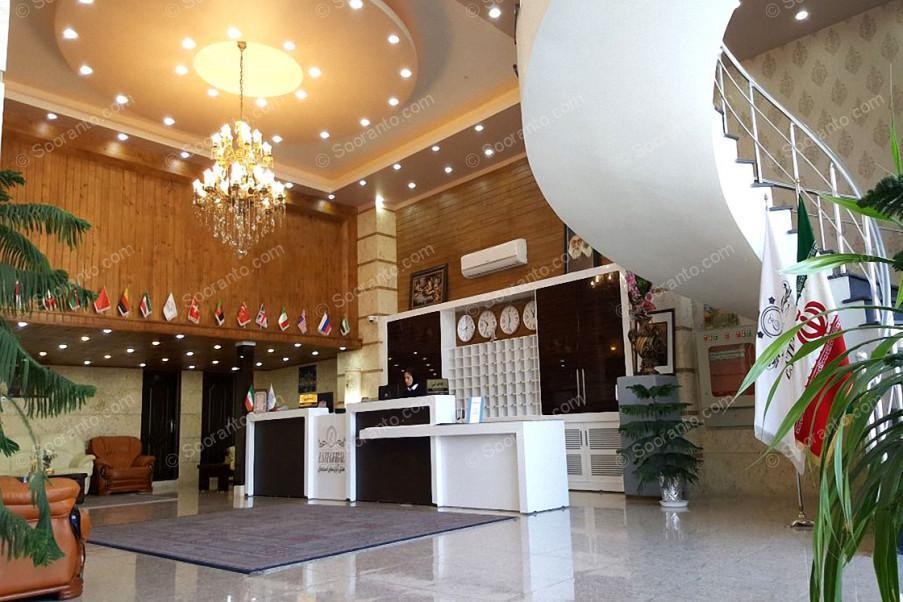 عکس سالن هتل استقبال 2268