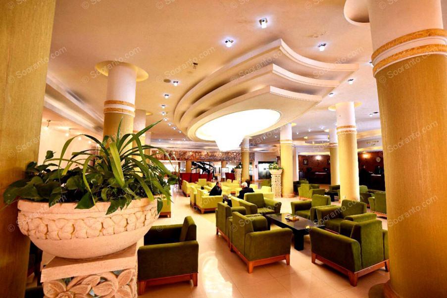 عکس سالن هتل هما 2548