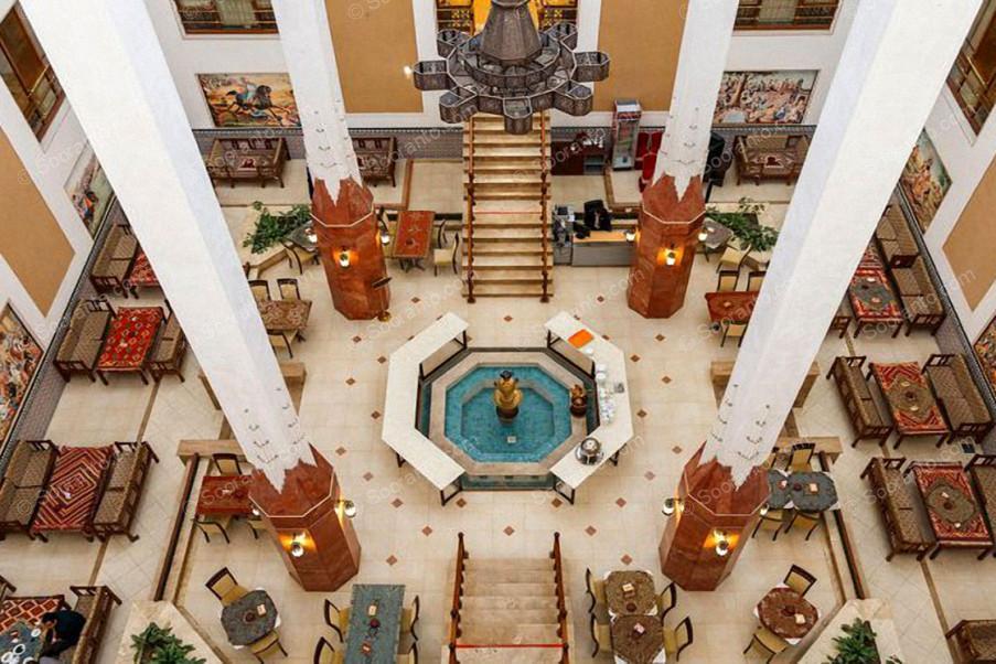 عکس سالن هتل صفائیه 3879