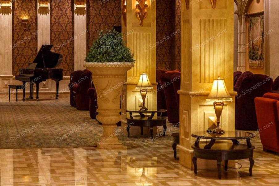 عکس سالن هتل بزرگ 2 2845