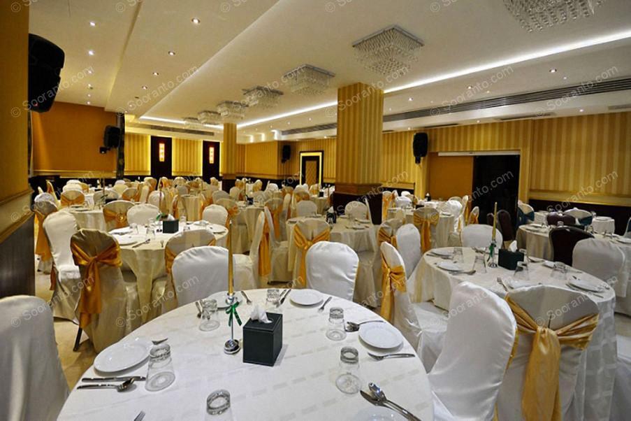 عکس سالن سالن برلیان هتل الیزه 2500
