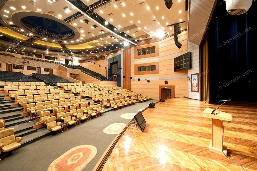 عکس سالن سالن خلیج فارس مرکز همایش های بین المللی 3853