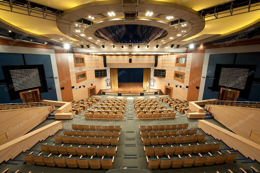 عکس سالن سالن خلیج فارس مرکز همایش های بین المللی 3857
