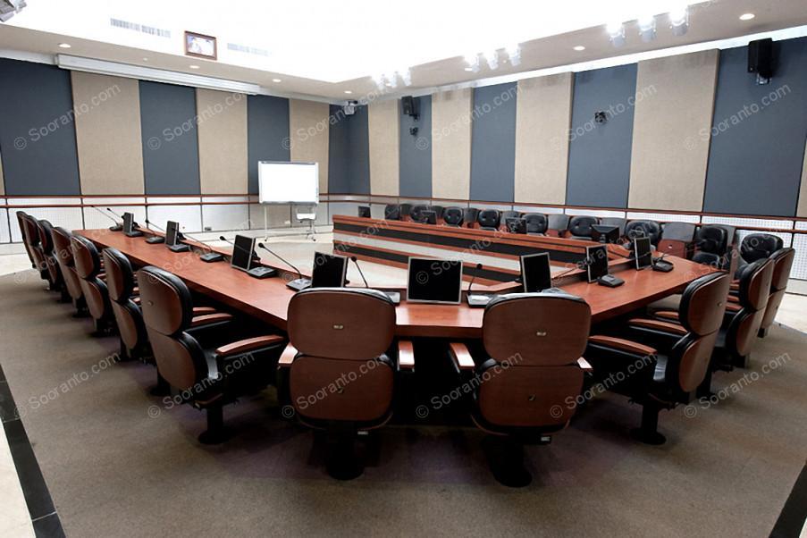 عکس سالن سالن خوارزمی مرکز همایش های بین المللی 3838