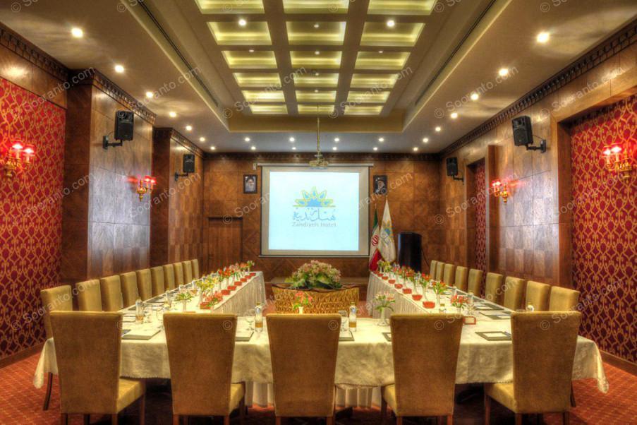 عکس سالن گلستان هتل زندیه 2450