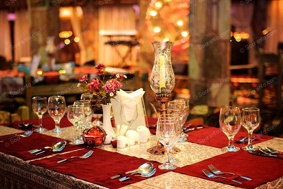 عکس سالن رستوران سنتی کوهستان هتل امیرکبیر 3574