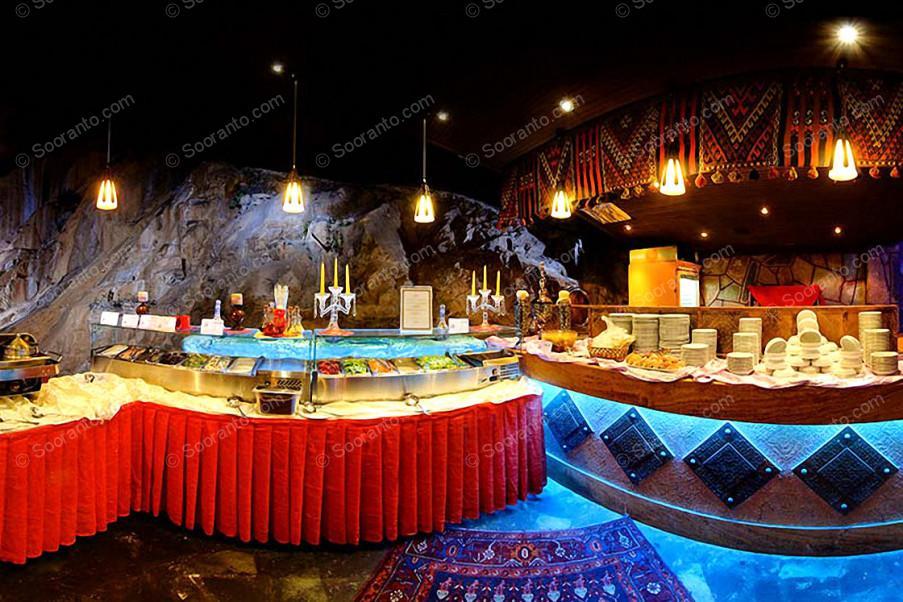 عکس سالن رستوران سنتی کوهستان هتل امیرکبیر 3576