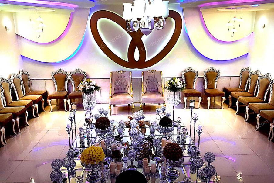 عکس سالن اتاق عقد تالار پذیرایی ارغوان طلایی 3669