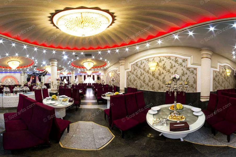 عکس سالن تالار ارغوان طلایی تالار پذیرایی ارغوان طلایی 3672