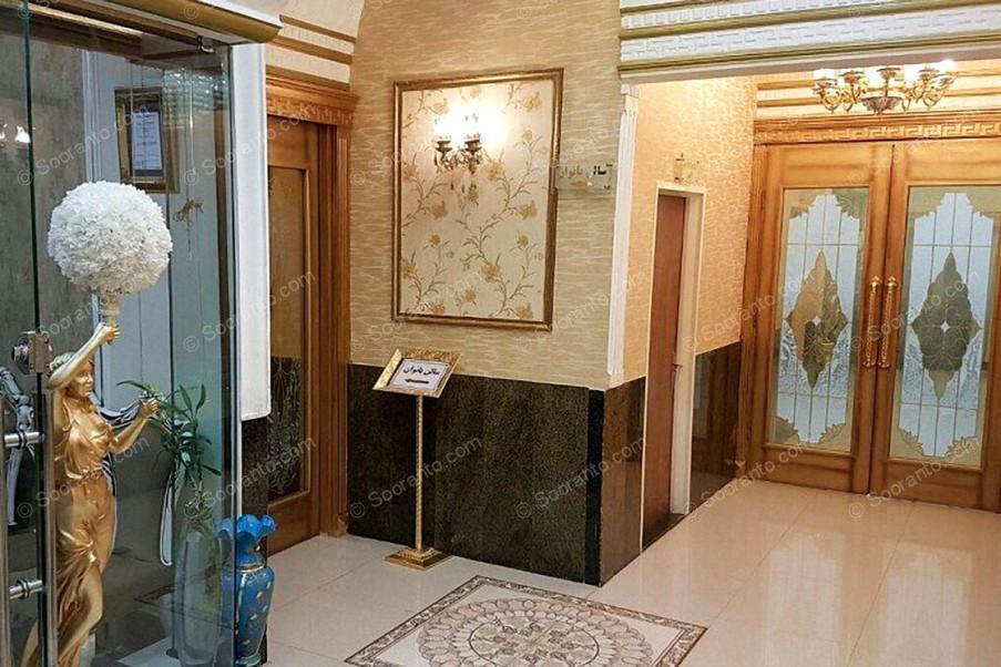 عکس سالن تالار ارغوان طلایی تالار پذیرایی ارغوان طلایی 3676