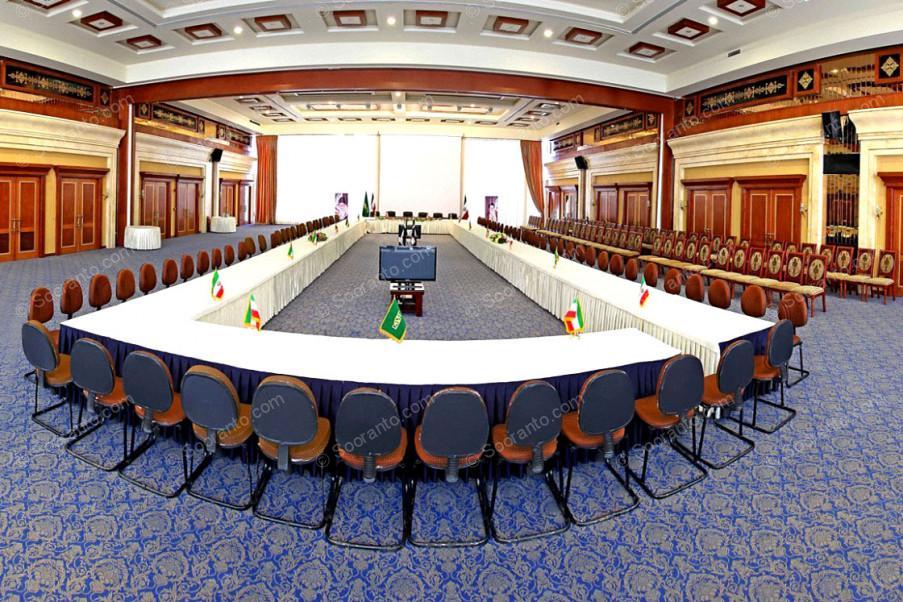 عکس سالن تالار آینه و دیپلمات هتل مجلل درویشی 4131