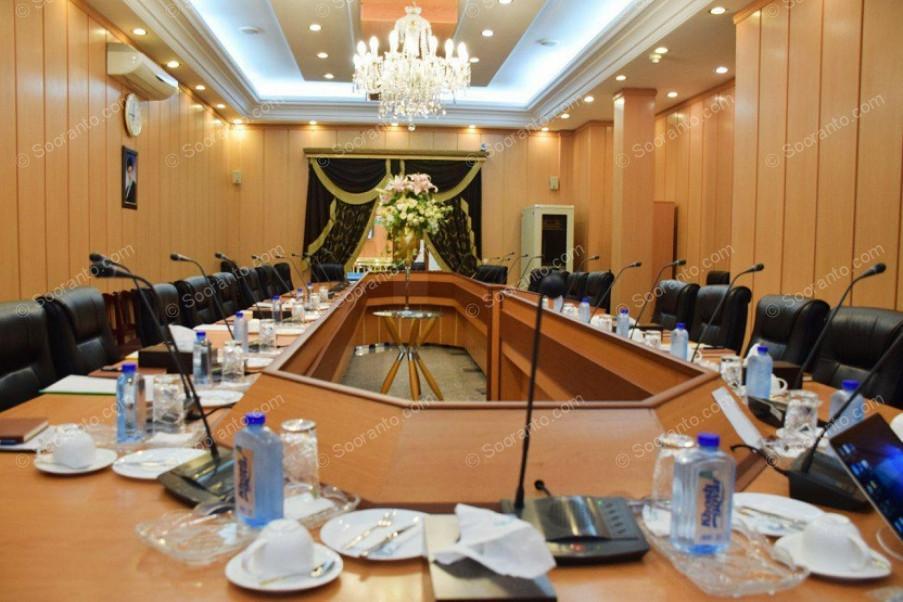 عکس سالن سالن کنفرانس هتل بین المللی قصر 4285