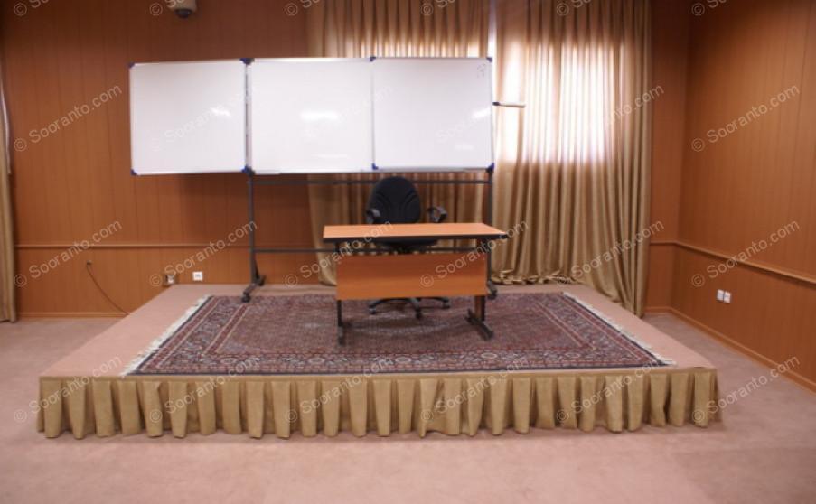 عکس سالن تالار نظامی گنجوی کانون اسلامی انصار مرکز 4454