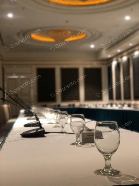 عکس سالن تالار آپادانا هتل اسپیناس خلیج فارس 4887