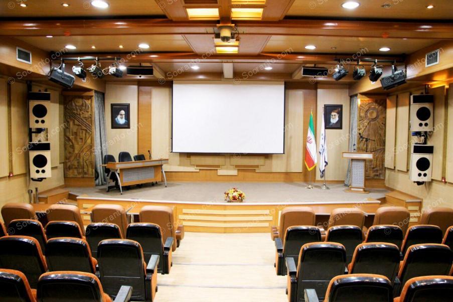عکس سالن آمفی تئاتر ستایش جهاد دانشگاهی صنعتی شریف 4925