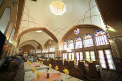 عکس سالن رستوران نقاشی